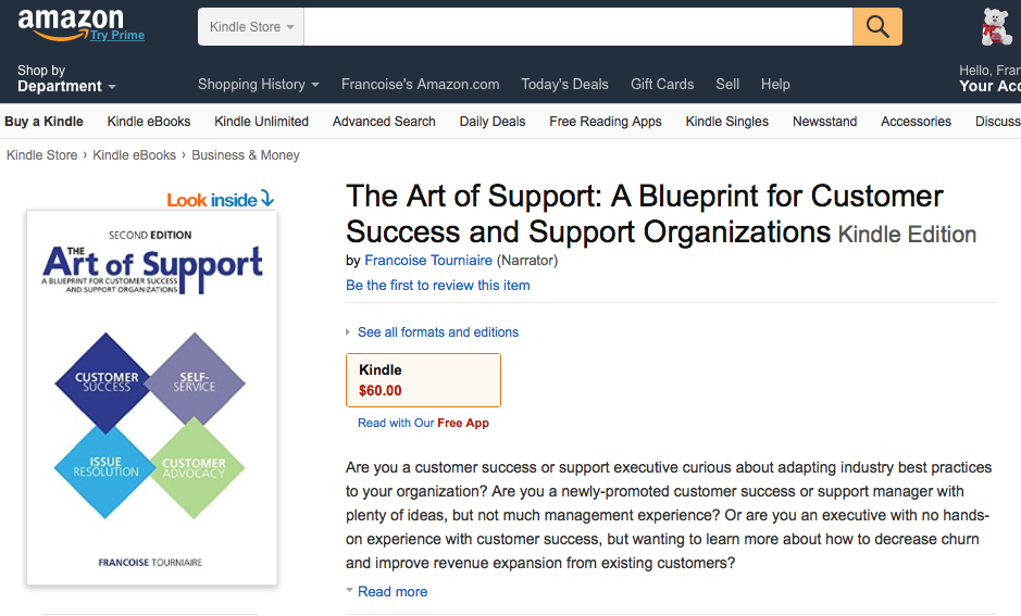 The Art of Support Second Edition on amazon.com